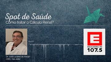 Como tratar o cálculo renal?