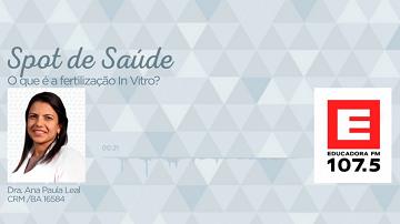 O que é fertilização in vitro?