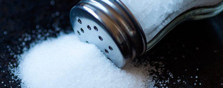 Baixa ingestão de sal também pode ser prejudicial