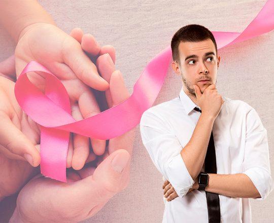 Outubro Rosa: Homens também podem ser acometidos pelo câncer de mama