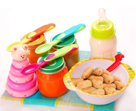Pesquisa sugere introdução de amendoim na dieta de bebês