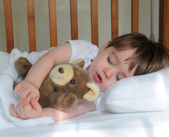 Ronco persistente em crianças pode prejudicar a sua saúde