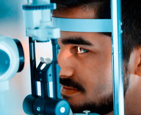 Tenha cuidado com o glaucoma