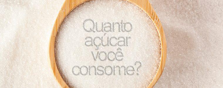 Você sabe quanto de açúcar consome por dia?