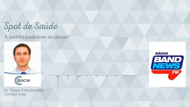 A gastrite pode levar ao câncer?