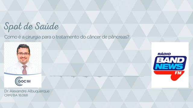 Como é a cirurgia para o tratamento do câncer de pâncreas?