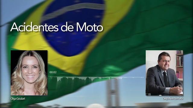 Olga Goulart entrevista Deputado Alex da Piatã sobre Acidente de Moto