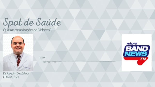 Quais as complicações do Diabetes?