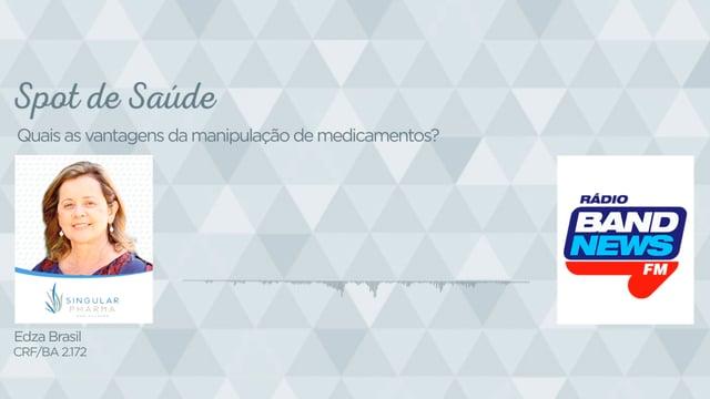 Quais as vantagens da manipulação de medicamentos?