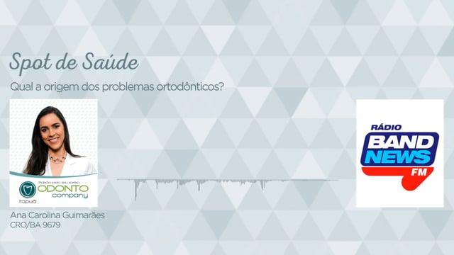 Qual a origem dos problemas ortodônticos?
