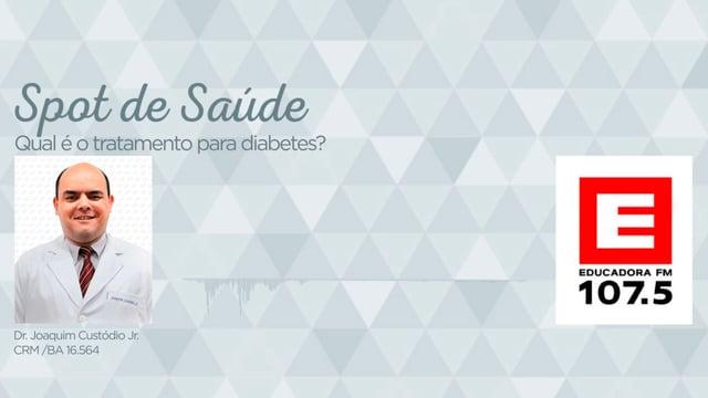 Qual é o tratamento para diabetes?
