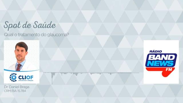Qual o tratamento do glaucoma?