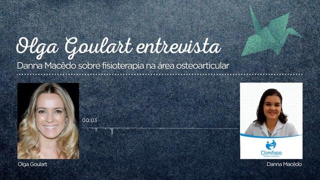 Tema: fisioterapia na área osteoarticular