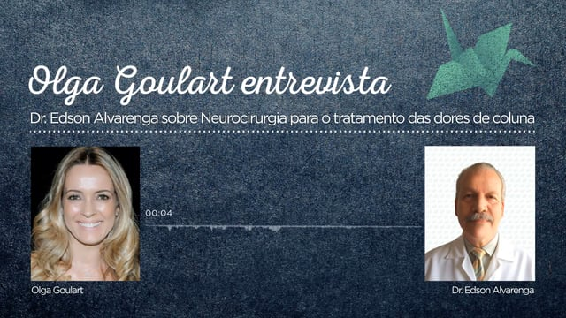 Tema: Neurocirurgia para o tratamento das dores de coluna