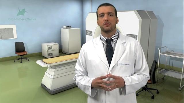 Como é feito o diagnóstico do cálculo presente nas vias urinárias?