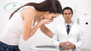 O que o paciente com câncer de estômago sente?