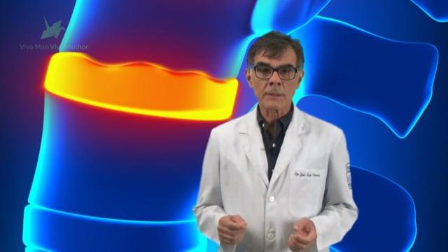 O que será estudado na ressonância magnética da coluna?