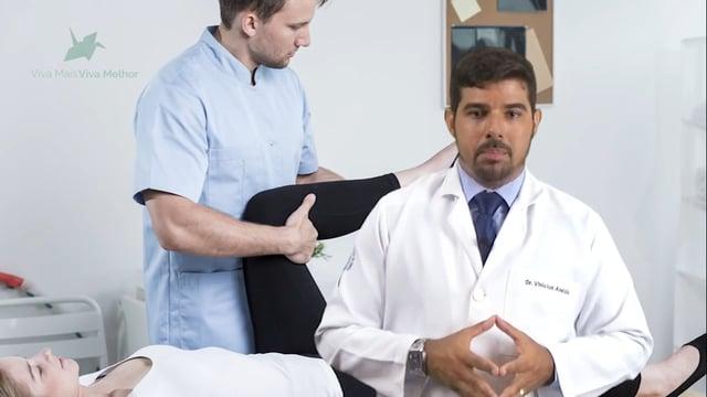 Quais as opções de tratamento para a osteoartrose do joelho?