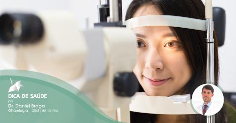 Saúde Ocular: Como é feito o diagnóstico da catarata?