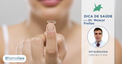Saúde Ocular: É possível emprestar as lentes de contato?