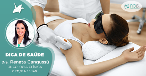 A depilação a laser, bem como outros tratamentos estéticos a base de laser podem causar o câncer de mama?
