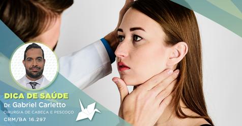 O que fazer em caso de ínguas persistentes no pescoço?