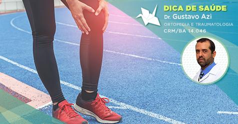 O que é uma lesão osteocondral no joelho?