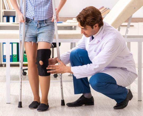 Grande parte das fraturas no joelho pode ser prevenida