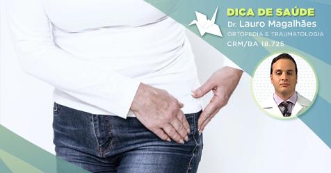 O quadril também pode ser acometido por bursite – causa comum de dor no ombro?