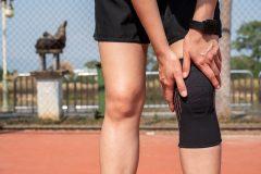 Atividade física em excesso pode causar lesão no joelho